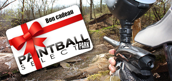 Souvent Paintball Select Park - Bon cadeau WD75